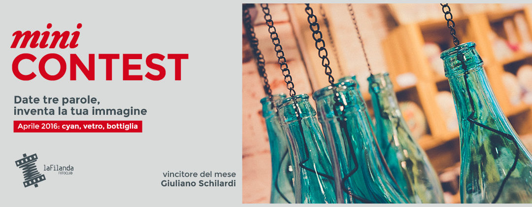 Minicontest – Cyan/vetro/bottiglia