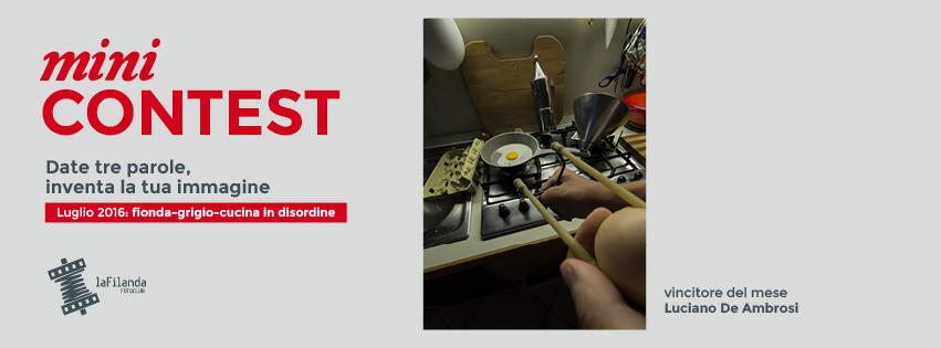 Minicontest – Fionda/grigio/cucinaindisordine